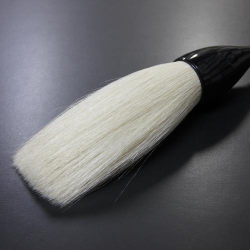 特大筆 天白筆 赤塗り軸 【書道用品・伝統工芸 豊橋筆・手作り・和文具】