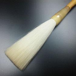 細微頂光鋒 紅斑竹  【高級羊毛筆】