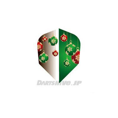 【あす楽対応】 PROフライト indiesシリーズ! PROフライト indiesシリーズ<フロストクリスマスカラー グリーン セミスタンダード>プロ Flight Christma Color Green シェイプ インディーズ ダーツ 【あす楽】 (ダーツ フライト ダーツ 羽 darts)