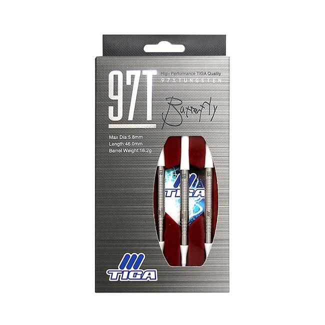 TIGA 97T BUTTERFLY 2BA 18g (dart barrel dartset)