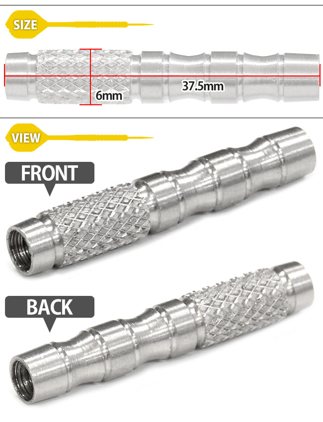 Harrows ASSASSIN 80% TUNGSTEN 16gK ( da-star / barrel expansively / store Rakuten )