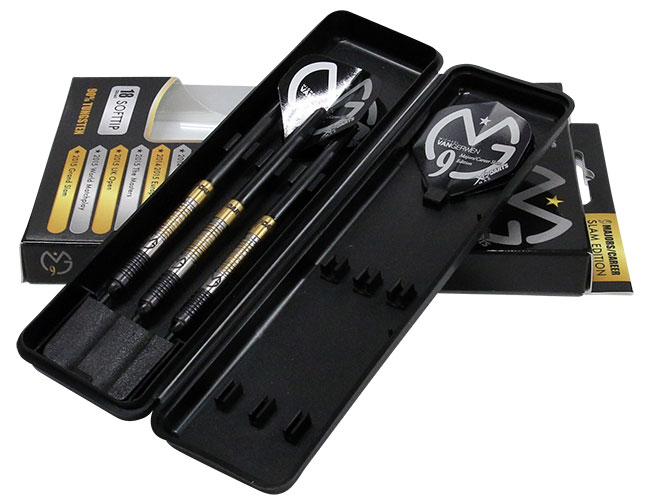 XQ MAX DARTS MvG Career Slam edition 90% tungsten 2BA 18g Michael Van Gerwen model (darts barrels)