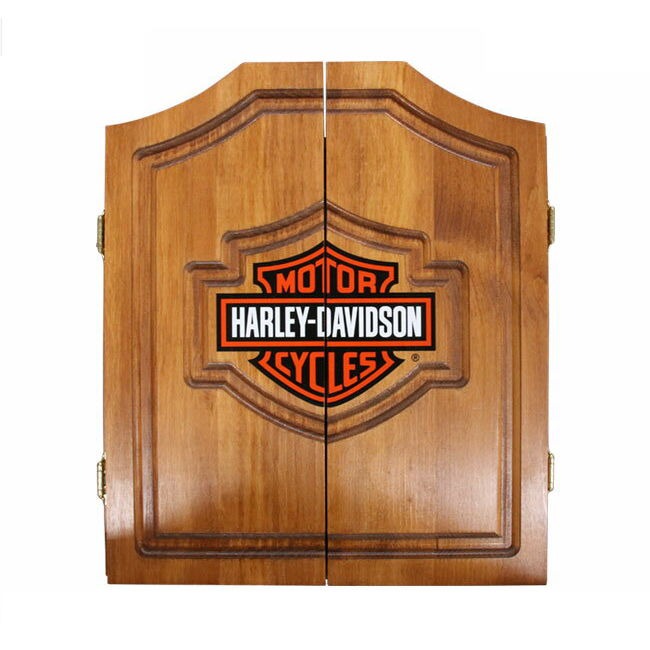 Bon Harley Davidson Bar And Shield Cabinet Only 61905 (DART Board Cabinets)
