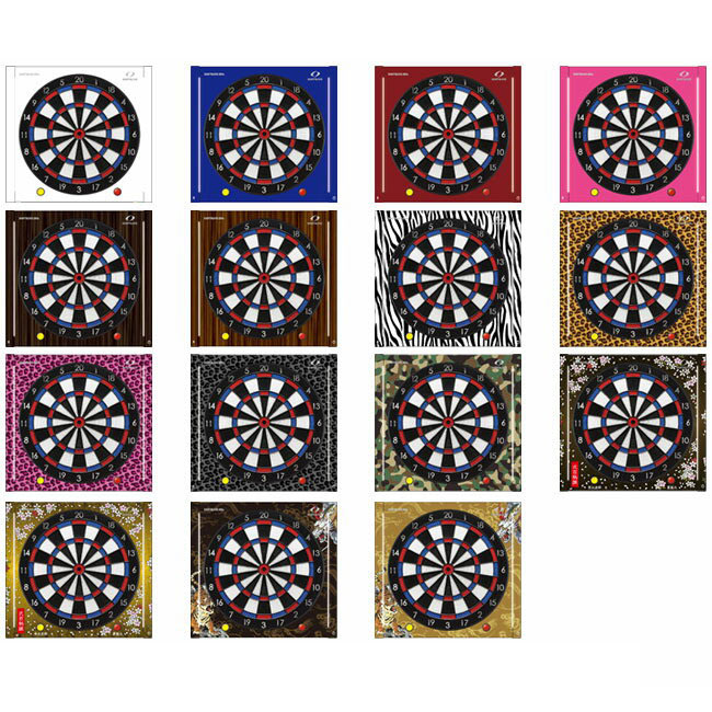 DARTSLIVE-200S カスタマイズステッカーセット (ダーツ ボード ライブ ダーツライブ200S ダーツボード dartslive 200s ステッカー セット) dartboard 送料無料