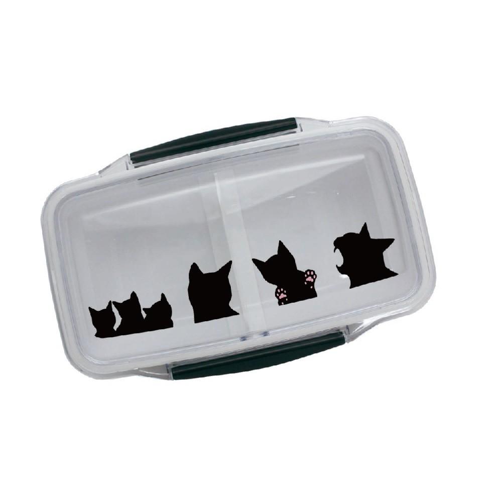 受注生産品 ランチボックス ドームランチボックス 黒猫 500ml 弁当箱 ネコ ねこ cat 最新号掲載アイテム キャット