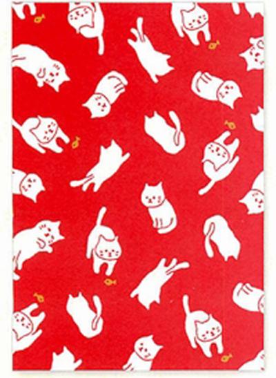 希少 ふわり御朱印帳 猫 蛇腹式 集印帳 ねこ ネコ CAT ストアー