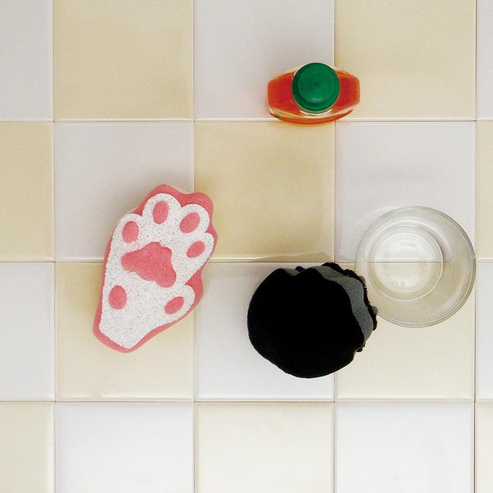 キッチンスポンジ 送料無料お手入れ要らず 肉球スポンジ ネコ 猫 いよいよ人気ブランド ねこ
