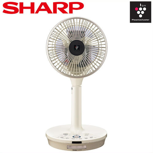 シャープ プラズマクラスター扇風機 コードレス3Dファン PJ-E2DBG-C(ベージュ系)