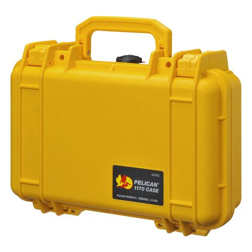 【送料無料】PELICAN(ペリカン) 1170HK 小型防水ハードケース 4977187880618 イエロー 1170HKYL