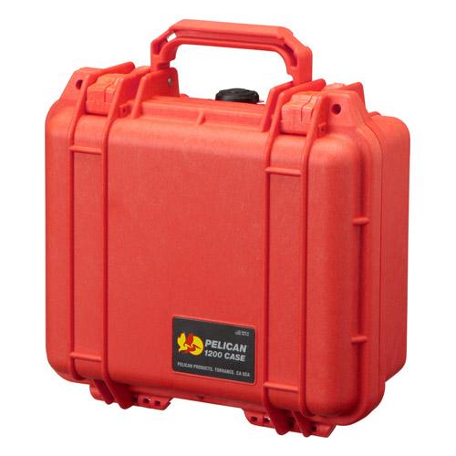【送料無料】PELICAN(ペリカン) オレンジ 1200HK 小型防水ハードケース 1200HKOR 4977187880670
