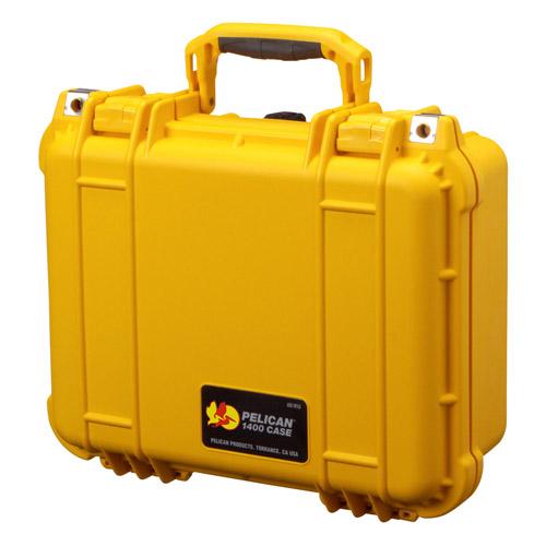 【送料無料】PELICAN(ペリカン) 1400HK イエロー 1400HKYL 4977187880755 小型防水ハードケース