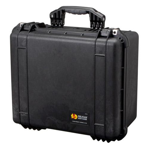 PELICANの中型防水ケース。高い防水性と頑丈な構造で大切な機材を保護します。 【送料無料】PELICAN(ペリカン) 1550HK ブラック 1550HKBK 4977187881059 中型防水ケース
