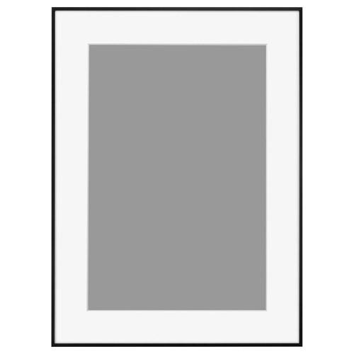 【送料無料】 ハクバ アルミ額縁 HFA-03 A3ノビサイズ ブラック[ホワイトマット] HFA-03BWM-A3N 4977187491401