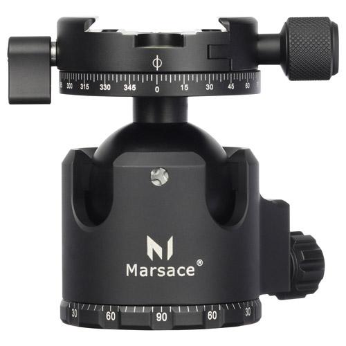 【エントリーでポイント10倍!】【アウトレット 訳あり特価】【送料無料】Marsace(マセス) 自由雲台XB-2R 6920231100062 高精度ロープロファイル自由雲台 アルミ削り出し