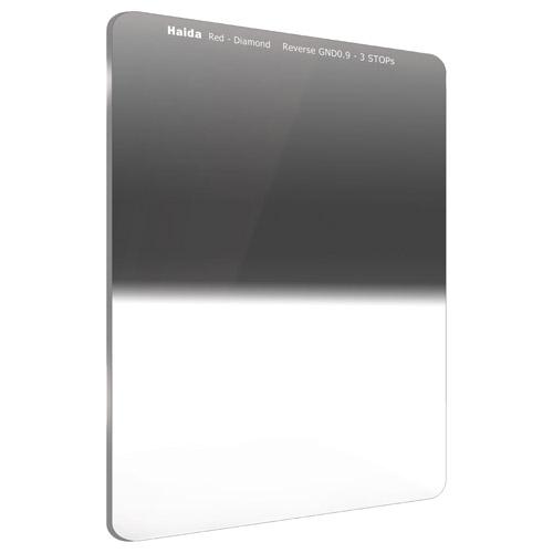 【エントリーでポイント10倍!】【送料無料】HAIDA(ハイダ)レッドダイヤモンド リバースグラデーション ND0.9(8×) フィルター 75×100mm  6972288551441 減光 角形フィルターシステム ハーフND