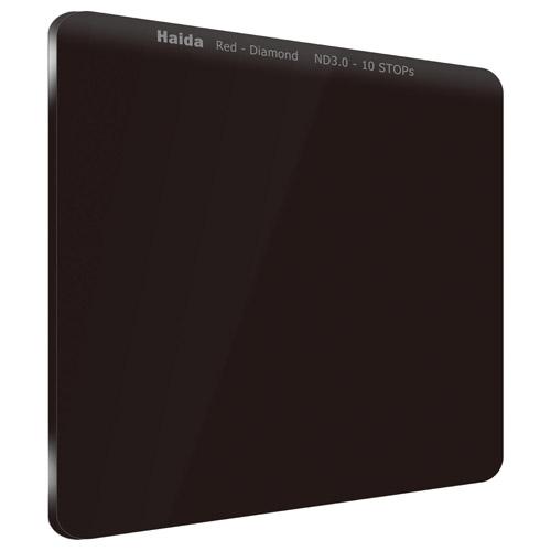 【エントリーでポイント10倍!】【送料無料】HAIDA(ハイダ)レッドダイヤモンド ND3.0(1000×)フィルター 100×100mm HD4271 6900574628799