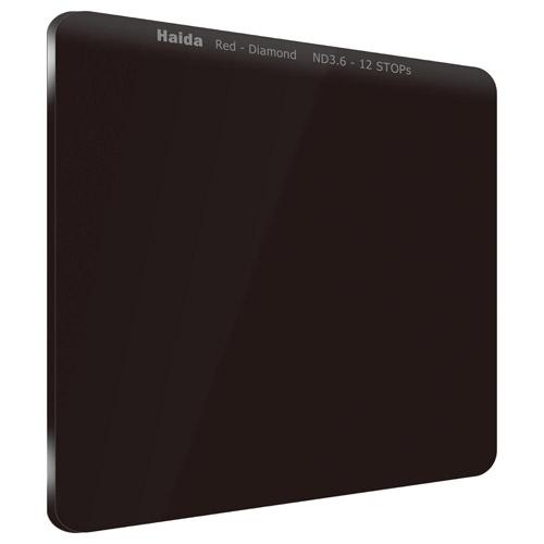 【エントリーでポイント10倍!】【送料無料】HAIDA(ハイダ)レッドダイヤモンド ND3.6(4000×)フィルター 100×100mm HD4272 6900574628805