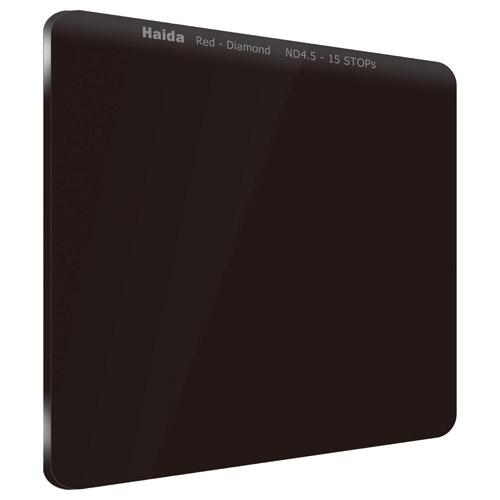 【エントリーでポイント10倍!】【送料無料】HAIDA(ハイダ)レッドダイヤモンド ND4.5(32000×)フィルター 100×100mm HD4273 6900574628812
