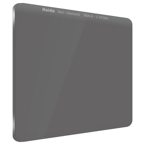 【エントリーでポイント10倍!】【送料無料】HAIDA(ハイダ)レッドダイヤモンド ND0.6(4×)フィルター 150×150mm HD4370 6900574630358