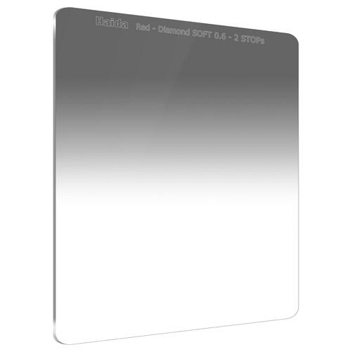 【エントリーでポイント10倍!】【送料無料】HAIDA(ハイダ)レッドダイヤモンド ソフトグラデーション ND0.6 フィルター 150×170mm HD4381 6900574630464