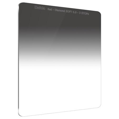 【エントリーでポイント10倍!】【送料無料】HAIDA(ハイダ)レッドダイヤモンド ソフトグラデーション ND0.9 フィルター 150×170mm HD4382 6900574630471