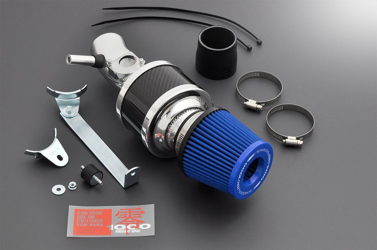 ZERO-1000/零1000 パワーチャンバー 【102-T025B】タイプ2 ライトブルー トヨタ プロボックス/サクシード