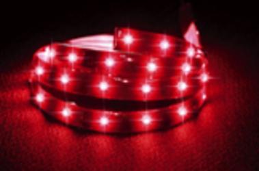 代引不可 LS-LINE超高輝度 LEDテープ レッド【GB-60LED/1200-RD】