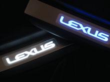 LEDスカッフプレートLEXUS LS460/600h型用 ノーマルタイプ