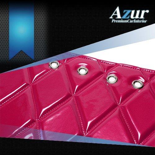 送料無料!(沖縄・離島不可) Azur エナメルキルトダッシュボードマット デュトロ 標準キャブ(ハイキャブ含む)ピンク 【AZD98WKA】