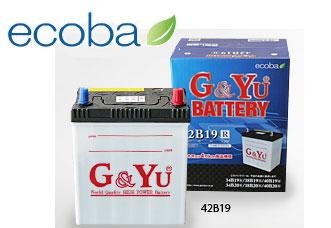 代引不可 G&Yuバッテリー【ecb-115D31L】ecoba(エコバ)シリーズ