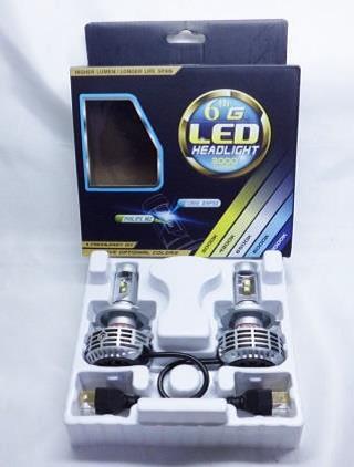 サンキ LED ヘッドライトバルブH4 Hi/Lo 6500K【SE-1015】