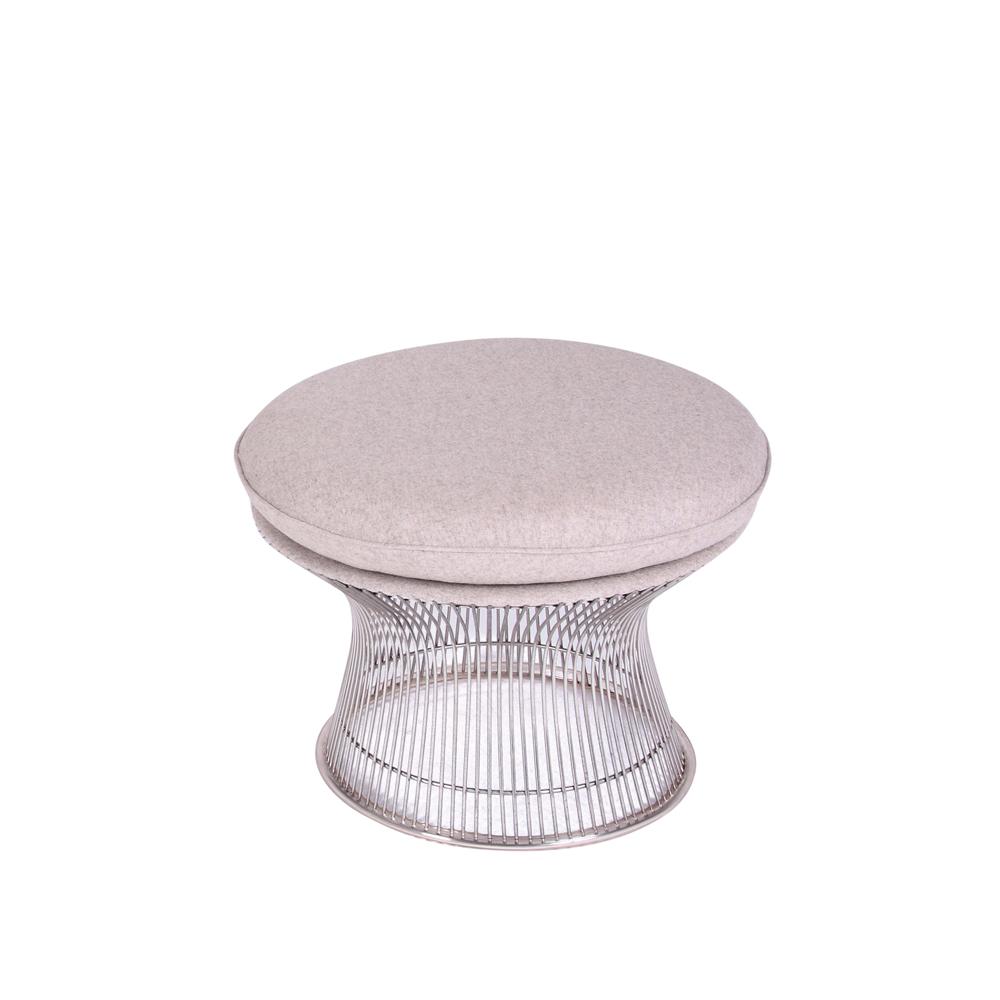 【受注生産対応:納期約45-90日】 ファブリック プラトナーイージーチェア オットマン 一人掛け 椅子 ラウンジチェア