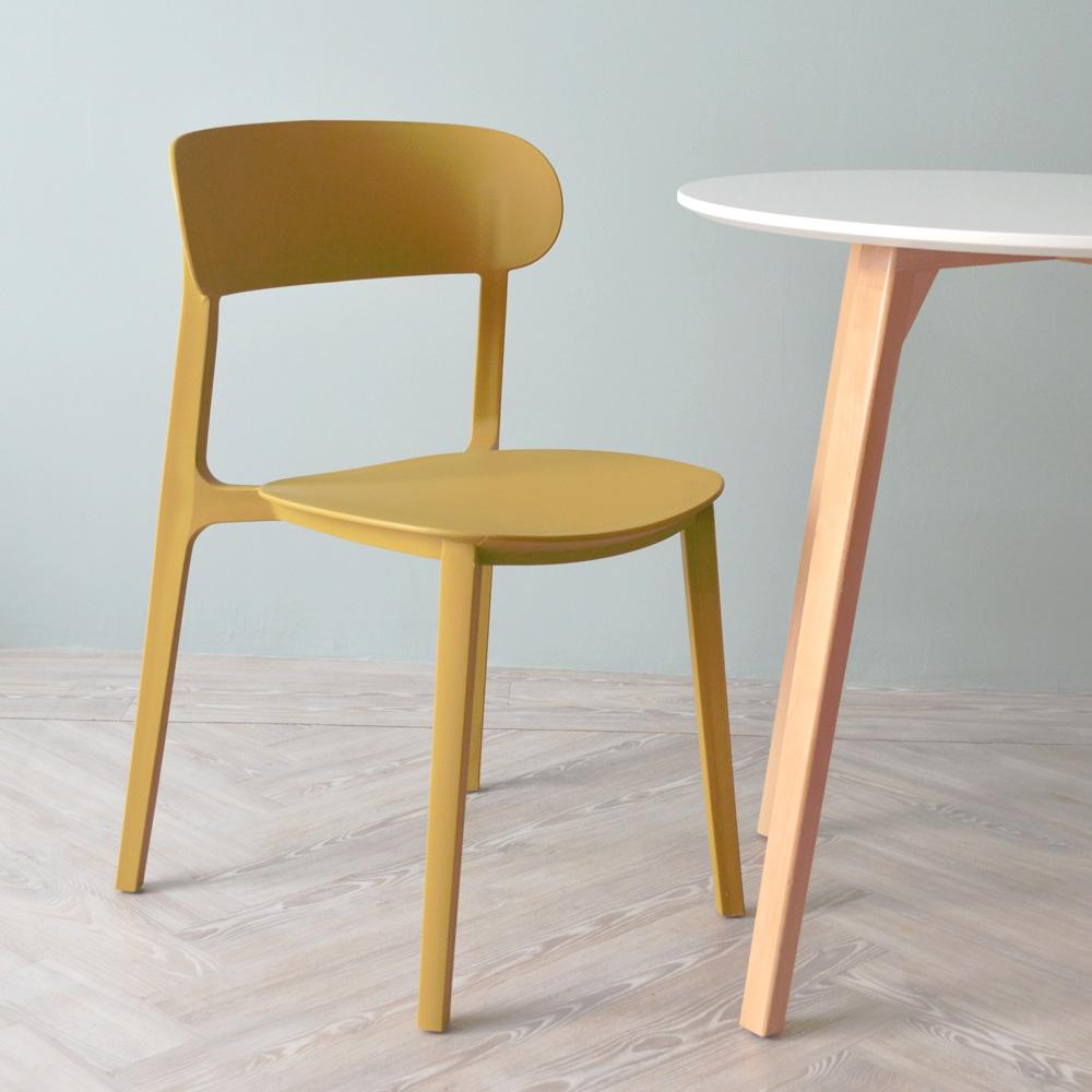 「500円割引レビュークーポン配布中」ローザチェア Rosa オシャレ 椅子 ダイニングチェア カラフル いす ベーシック樹脂 オリジナル シンプル 送料無料 おしゃれ チェアー カフェ 一人用 一人掛け