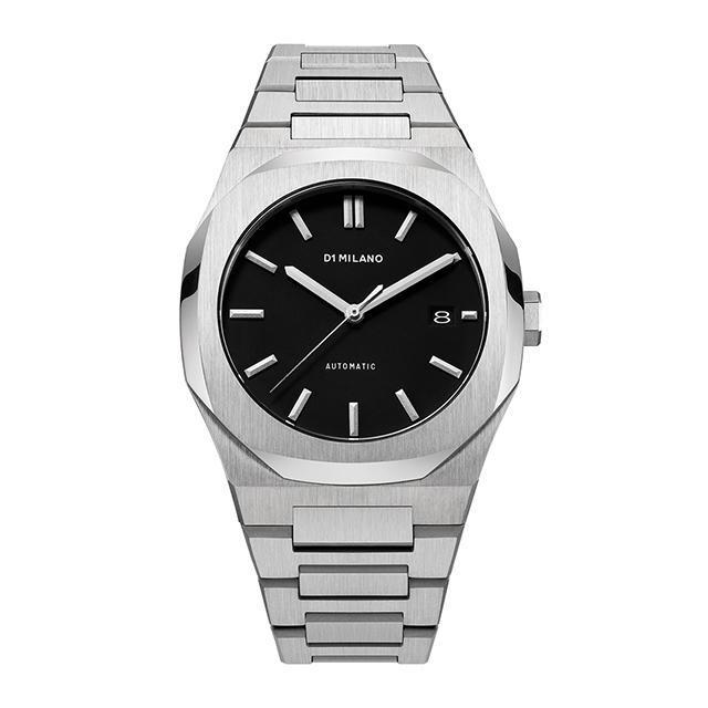 ディーワンミラノ D1 MILANO P701 Automatic Watch Silver Case with Silver Bracelet 腕時計 メンズ