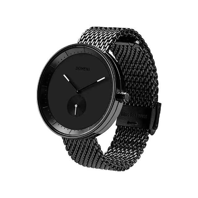 ドメニ コー DOMENI CO blm01-32 32mm シグニチャーシリーズ - ブラック ミラノメッシュ 腕時計 時計 レディース