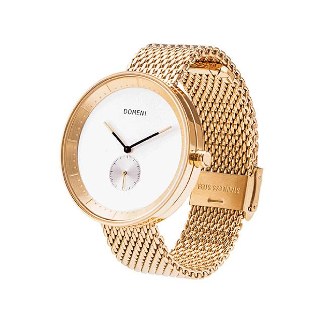 ドメニ コー DOMENI CO gmw01-32 32mm シグニチャーシリーズ - ゴールド ミラノメッシュ 腕時計 時計 レディース