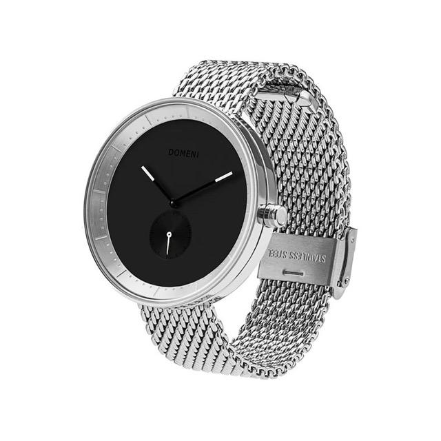 ドメニ コー DOMENI CO ssm03-32 32mm シグニチャーシリーズ - シルバー ミラノメッシュ 腕時計 時計 レディース