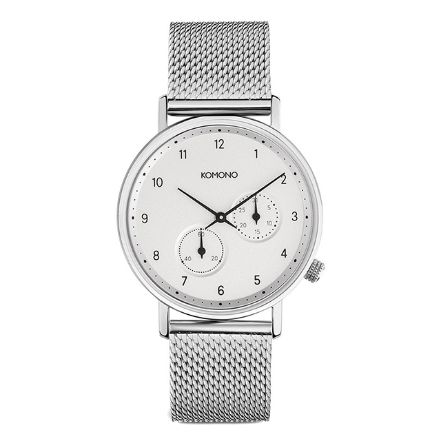 コモノ KOMONO ワルサー シルバーメッシュ [WALTHER - SILVER MESH] 腕時計 メンズ レディース