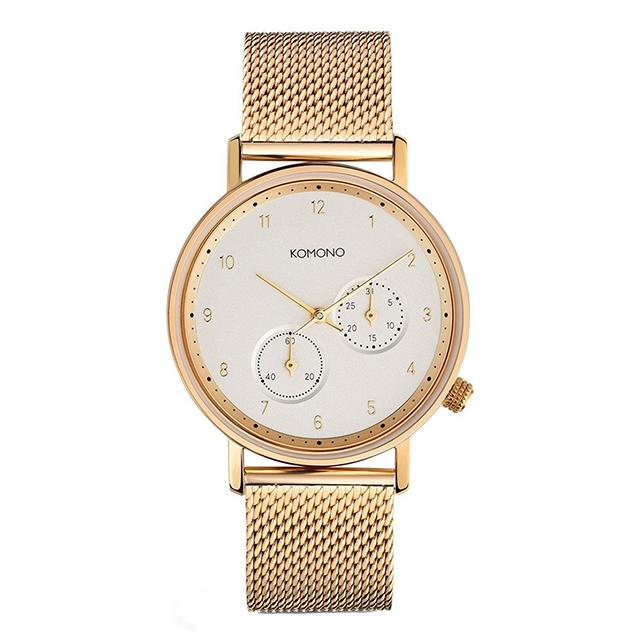 コモノ KOMONO ワルサー ゴールドメッシュ [WALTHER - GOLD MESH] 腕時計 メンズ レディース
