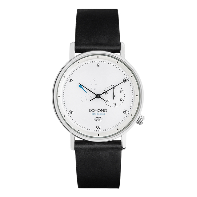コモノ KOMONO ワルサー レトログレード ホワイト [WALTHER RETROGRADE WHITE] 腕時計 メンズ レディース
