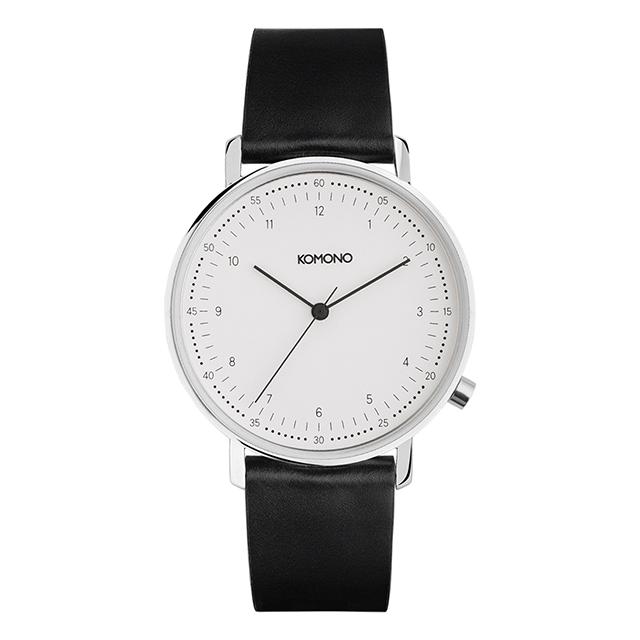 コモノ KOMONO ルイス ブラック [LEWIS BLACK] 腕時計 メンズ レディース