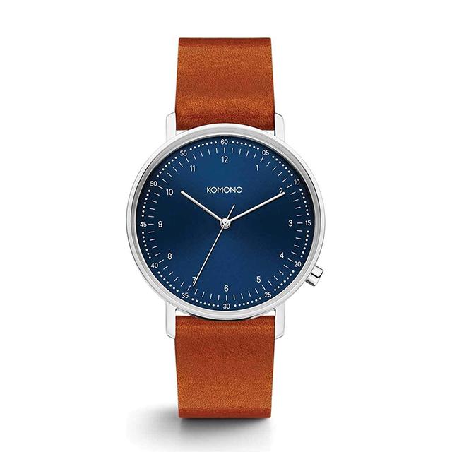 コモノ KOMONO ルイス ブルー コニャック [LEWIS BLUE COGNAC] 腕時計 メンズ レディース