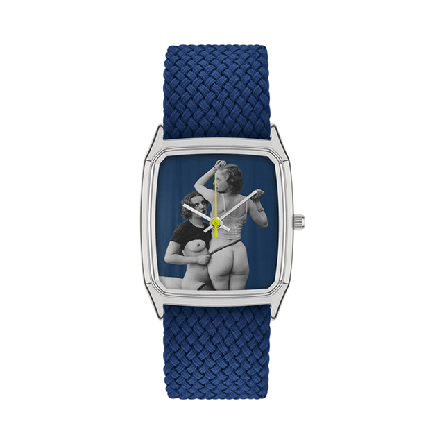 ラプス LAPS オストラ スタジオ Ostra Studio 26mm Cobalt Blue 腕時計 メンズ レディース