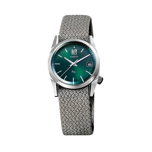 マーチエルエービー【MARCH LA.B】Sixty 3 - Greige 腕時計 メンズ レディース