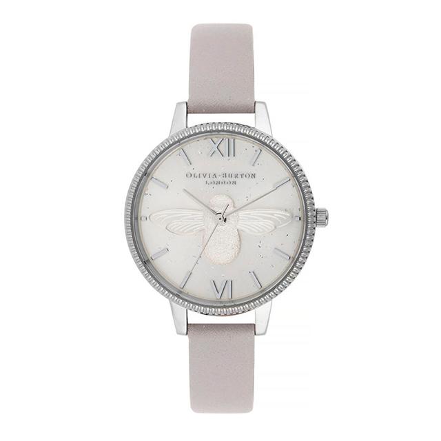 オリビアバートン レディース 腕時計 時計 Olivia Burton セレスティアル グレイ ライラック & シルバー