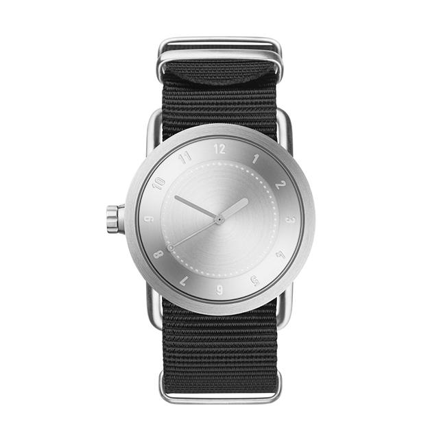 ティッド ウォッチ 時計 腕時計 【TID Watches】 No.1 Steel / Black Nylon Wristband 36