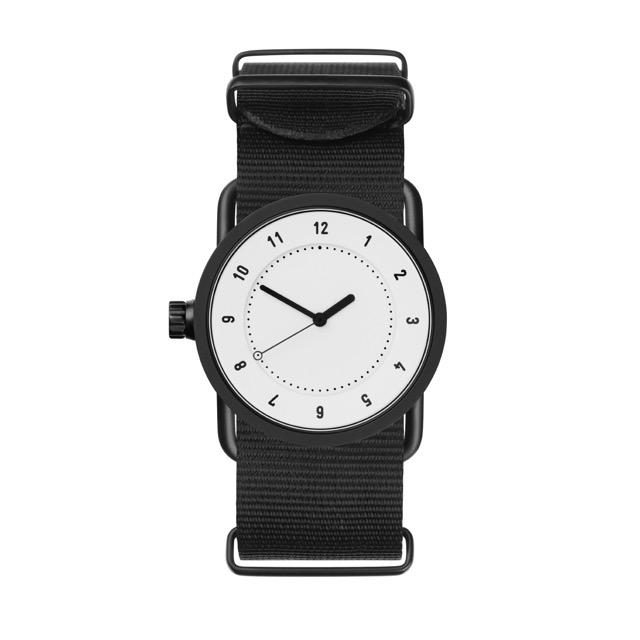 ティッド ウォッチ 時計 腕時計 【TID Watches】 No.1 White / Black Nylon Wristband 33