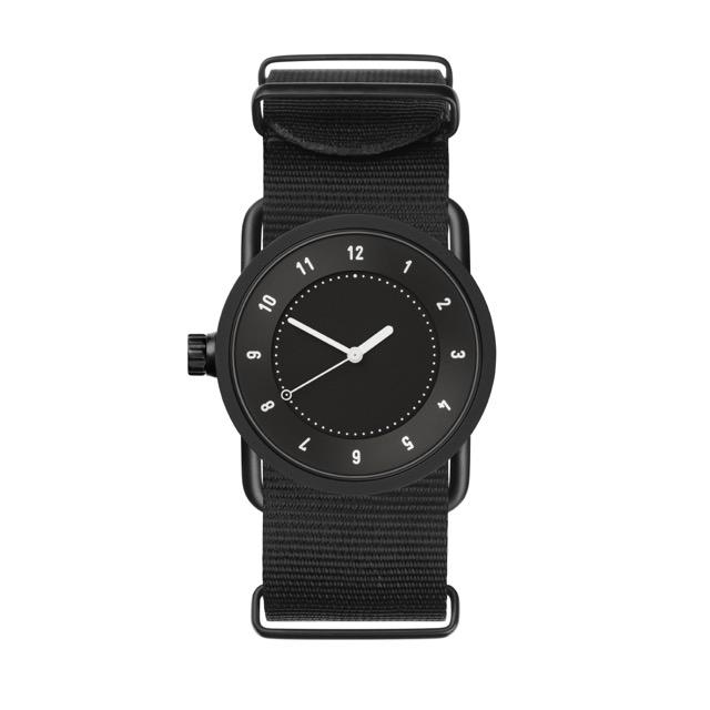 ティッド ウォッチ 時計 腕時計 【TID Watches】 No.1 Black / Black Nylon Wristband 33