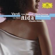 Verdi ベルディ / 歌劇『アイーダ』全曲 リッチャレッリ、ドミンゴ、オブラスツォワ、ヌッチ、ギャウロフ、ライモンディ、アバド&ミラノ・スカラ座管弦楽団&合唱団 輸入盤 【CD】