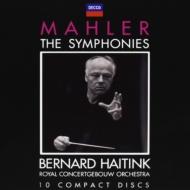 【送料無料】 Mahler マーラー / 交響曲全集 ハイティンク&コンセルトヘボウ管(10CD) 輸入盤 【CD】